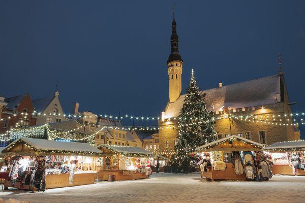 Christmas Market, Estonia
