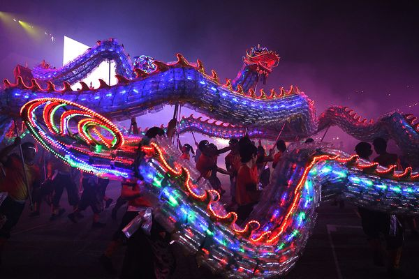 Dragon Lights, China