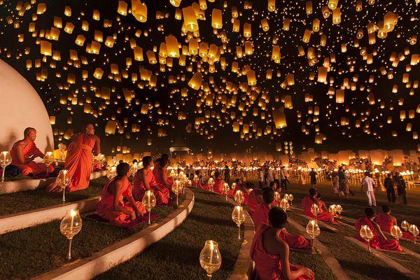 Yi Peng Festival, Thailand