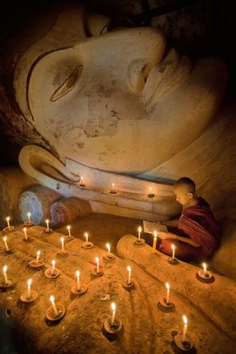 Young Monk, Myanmar