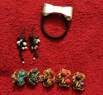 Hair Acessories and Earrings