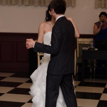 პატარძლის პირველი ცეკვა სიძესთან